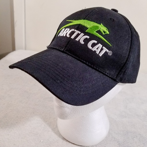 91e305e9ba704 Arctic Cat Green Logo Adjustable Baseball Cap
